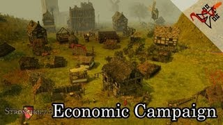 Stronghold 3 - Mission 5 | Race for the Relic - Economic Campaign [Hard/HD/En]