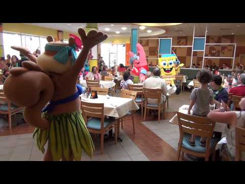 Spongebob's Bikini Bottom Breakfast at The Nickelodeon Suites Resort in Orlando