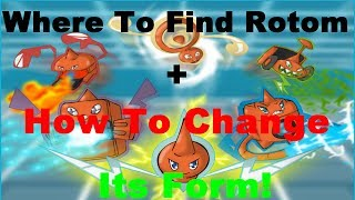 Pokemon X And Y-Where To Find Rotom+How To Change Its