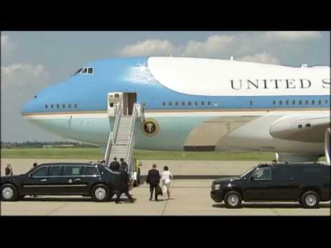 President Obama Departure RAW VIDEO