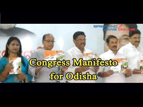 Congress Manifesto for Odisha