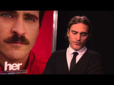 Her: Joaquin Phoenix Los Angeles Premiere Interview