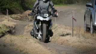 Toyota Rav4 Vs BMW R 1200 GS 2013 Off Road Battle