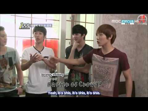 {SINAQ} 120831 MBLAQ Idol Manager Ep 3 (1/3)