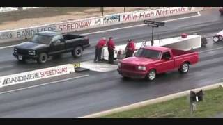 1993 Ford F150 SVT Lightning Vs Chevrolet Silverado 454ss