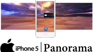 IPhone 5 How To Use Panorama Tutorial Apple IPhone 5