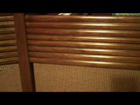 1960 Magnavox console stereo demonstration