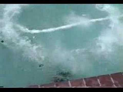 Dry Ice Bomb In Swimming Pool Youtube