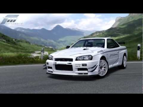 Forza 4 - 2002 MINE'S R34 Skyline GT-R - Unicorn Car - VIP Gift