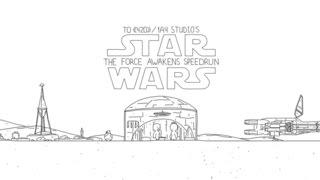 Star Wars VII - Sila sa prebúdza v 60 sekúndách
