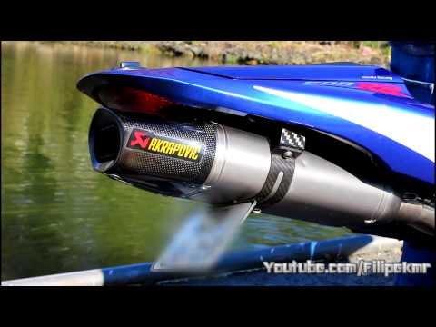 HONDA CBR 600 RR 2010 AKRAPOVIC FULL EXHAUST HD