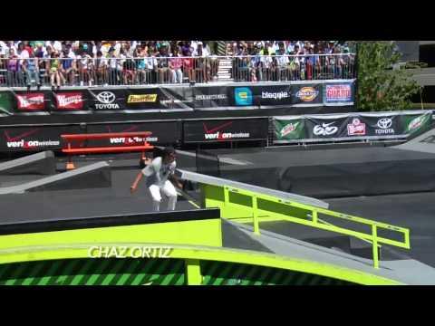 P-Rod, Chaz Ortiz, Tyler Hendley - Skate Park Highlights - Portland Dew Tour 2010