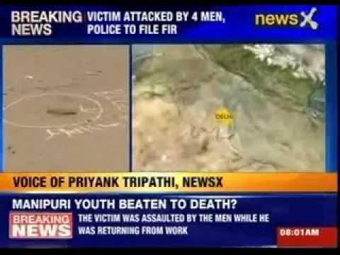 Manipur student allegedly beaten to death