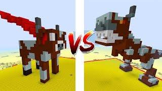 Đại Chiến Những Con Bò Siêu Nhân Trong Minecraft