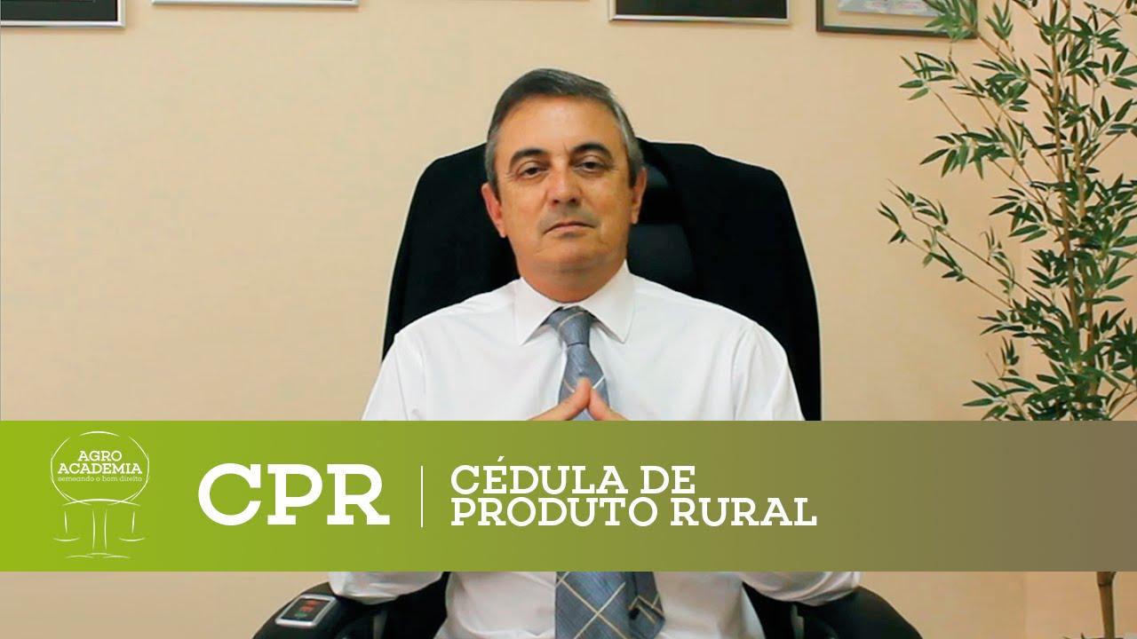 CPR - Cédula de Produto Rural