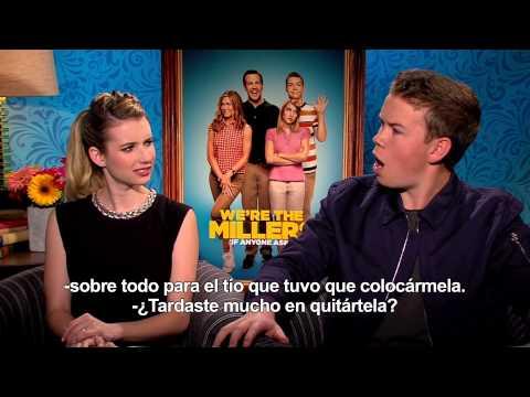 Somos Los Miller - Entrevista Emma Roberts y Will Poulter