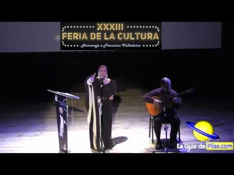 Recital Poesía Nati Mistral Pepe Montero XXXIII Feria de la Cultura de Pilas