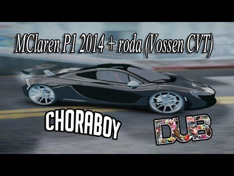 Gta Iv Eflc - Mclaren P1 2014 + Roda (vossen Cvt) - Dub