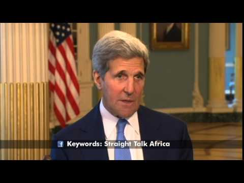 VOA's Straight Talk Africa US Secretary of State John Kerry Exclusive on Africa Trip