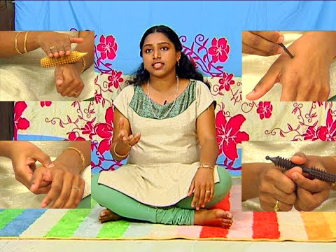 Acupressure Points to relieve Back Pain | Vanitha TV