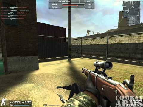 Combat Arms Europe Unbelievable+1 in Sniper Only