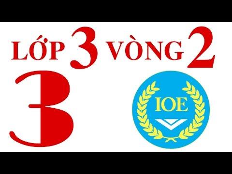 IOE Olympic Tiếng Anh lớp 3 vòng 2 năm 2014-2015