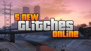 GTA 5 Glitches: 5 NEW Glitches Online! (Invincibility