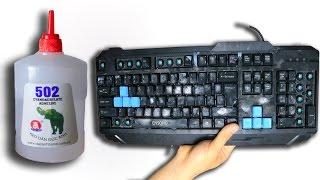 NTN - Trò Đùa Phá Bàn Phím Bằng Keo 502 ( Prank Glue Keyboard )