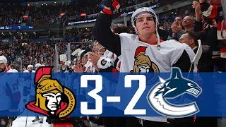 Canucks vs Senators | Highlights | Oct. 10, 2017 [HD]