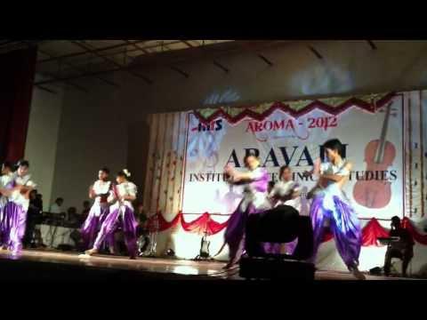 AROMA 2012 - ARAVALI ( AITS ) Annual Function Student Performance 1