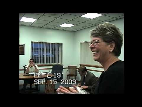 Rouses Point Village Board Meeting 9-15-03