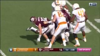 Texas A&M vs Tennessee 2016 - no huddle