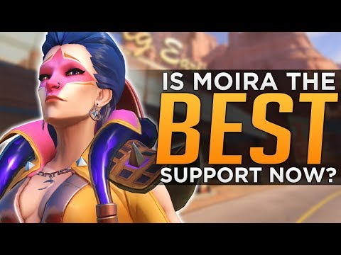 Overwatch: Is Moira the BEST Support?