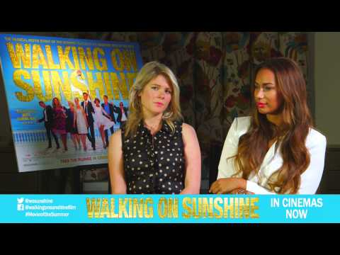Hannah Arterton & Leona Lewis: Working with the other cast members? [Vertigo Films]