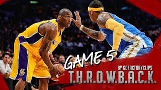 Throwback: Kobe Bryant Vs Carmelo Anthony Full Duel