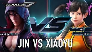 TEKKEN 7 - Jin VS Xiaoyu Gameplay