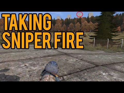 DayZ Standalone Alpha - Im Feeling Lucky Part 16 Taking Sniper Fire!