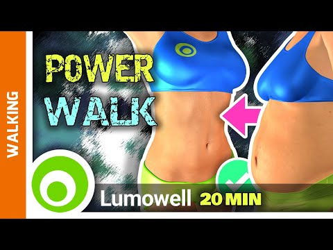Walk At Home Exercise - 20 Minute Fitness Workout