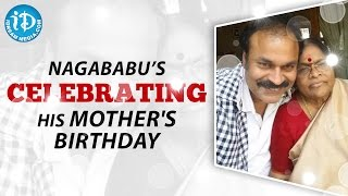 Naga Babu Celebrating His Mother's Birthday-Visuals
