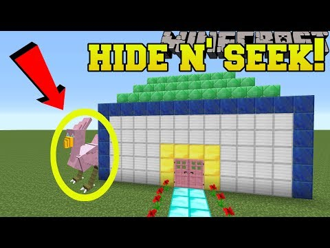 Minecraft: CHOCOBOS HIDE AND SEEK!! - Morph Hide And Seek - Modded Mini-Game