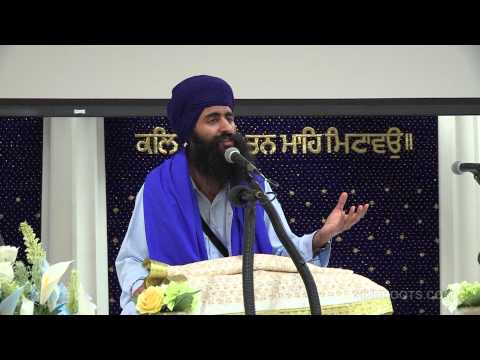 "Bhai Sukha Singh (UK) - ""Gursikhi Ki Nishaani 2/2"" - Katha in English & Punjabi"