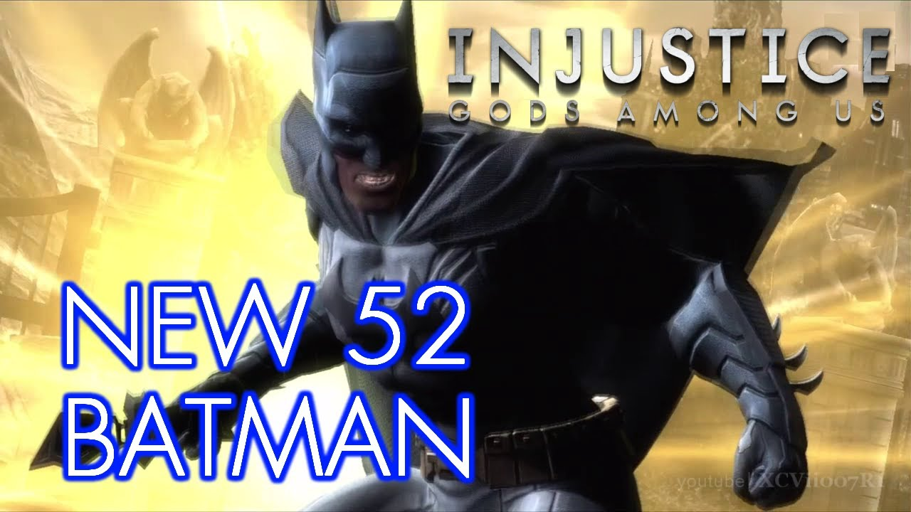 INJUSTICE: GODS AMONG US - NEW 52 BATMAN Costume Skin DLC ...