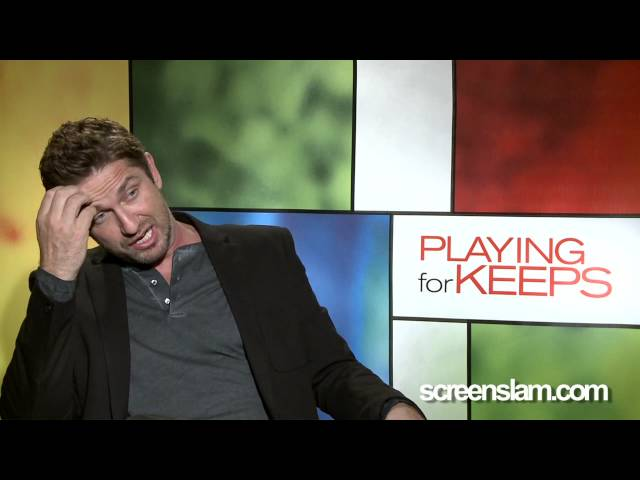 Playing foe Keeps: Celebrity Interview Gerard Butler