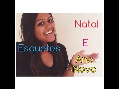 Camila Loures - Esquetes de Natal e Ano Novo