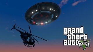 ★ GTA 5 : SECRET UFO EASTER EGG!! #2 [Sandy Shores UFO