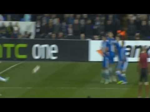 Christian Eriksen Amazing Free Kick Goal   Tottenham vs Dnipro 1-1 - Europa League HD