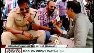 HLT - Election Express: Ajay Devgan, Rohit Shetty on the marketing of politicians