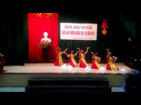 Múa Việt Nam My Love - shh khu B nghĩa tân