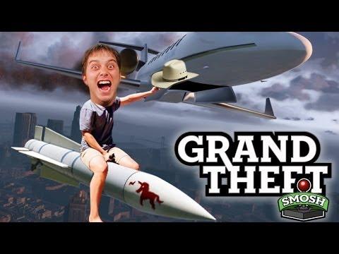 DANGER ZONE! (Grand Theft Smosh)
