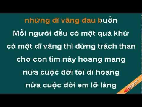 Moi Nguoi Mot Qua Khu Karaoke - Lam Hung - CaoCuongPro
